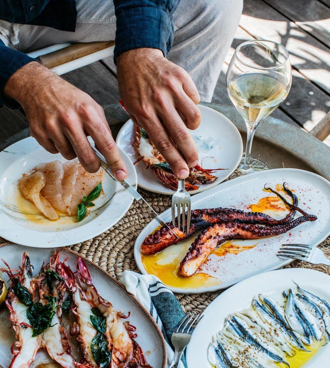 Mediterranean Seafood Byron Bay